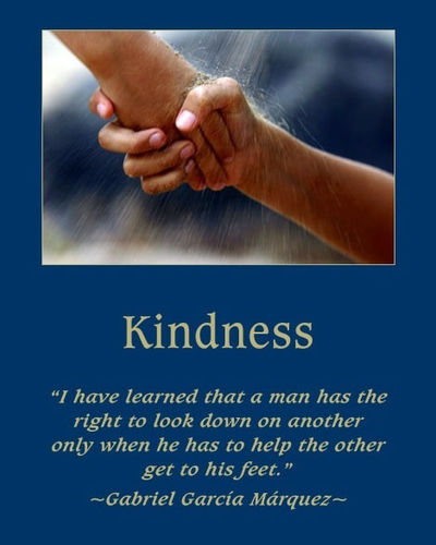 Kindness hands