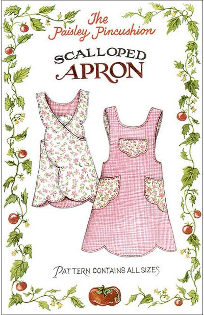 Apron - scalloped