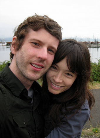 Jesse and Sarah in Portland