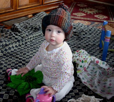 Christmas Margot1