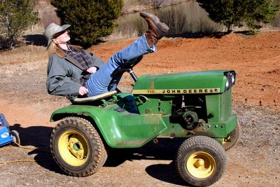 April on john deere