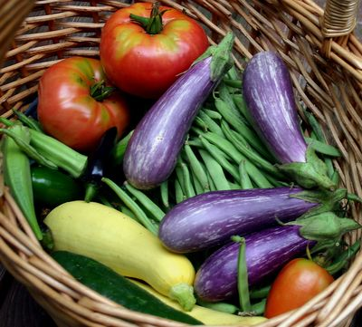 Colorful veggies