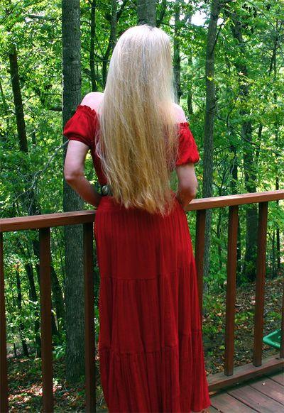 Hair standing