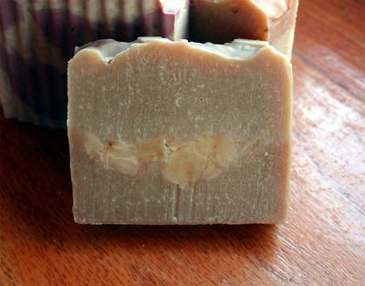 Soap with chunks