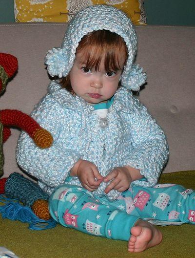 Margot in blue sweater2