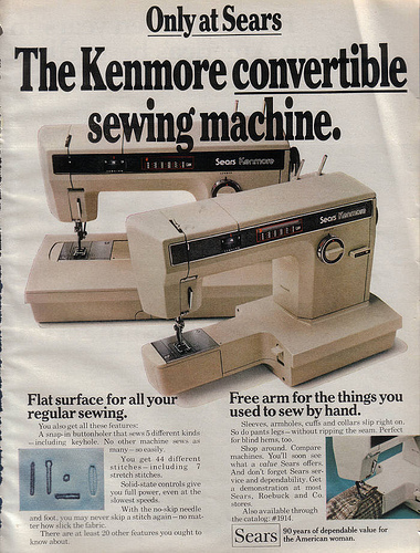 SEWING MACHINE KENMORE ZIG ZAG | eBay