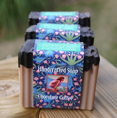 Chocolatecoffeesoap